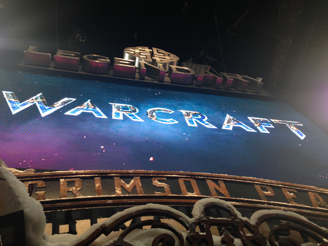 Comic-Con: Legendary Pictures Reveals the Warcraft Logo