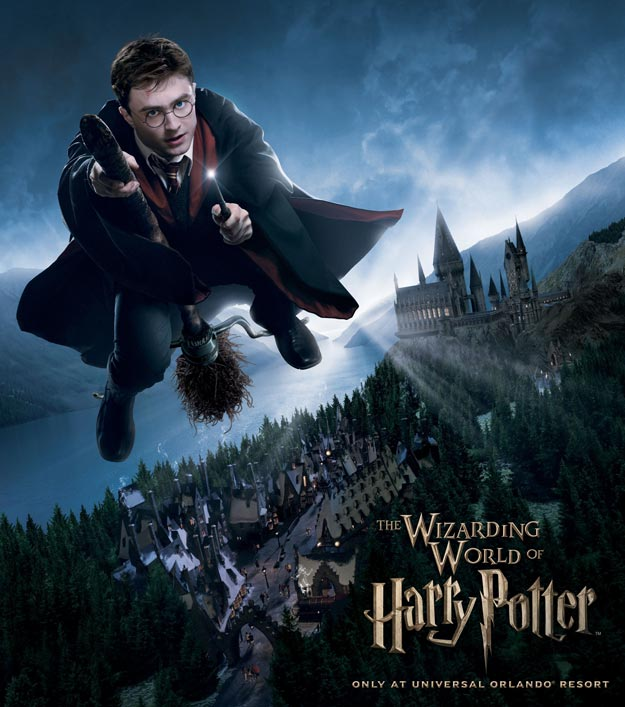 harry potter world. and enjoy Harry Potter for