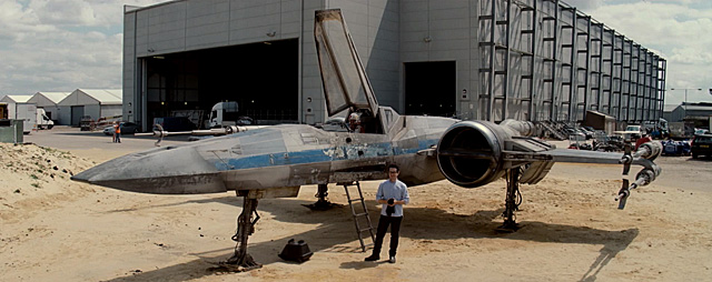 J.J. Abrams Reveals X-Wing Prototype in New Star Wars: Force for Change Video