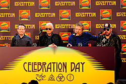 zeppelincelebrationday2 Led Zeppelin Makes Rare NYC Appearance for Celebration Day
